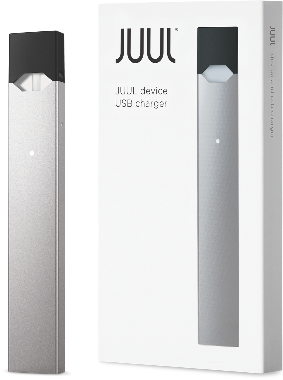 JUUL Device Kit (Device & Charger) - Silver