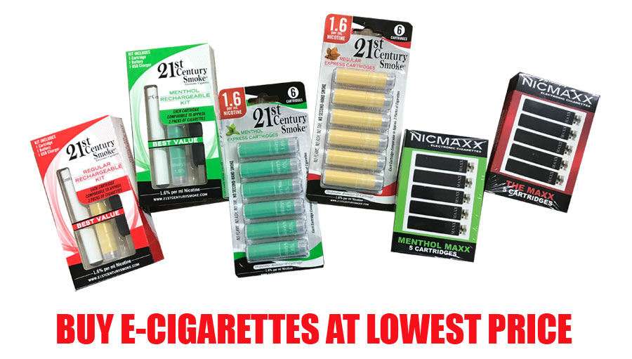 E-Cigarettes on Sale
