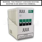 JUUL Cool Mint Pods (Pack of 4) - 3% 2.8ml Each Pod