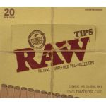 Raw Unrefined Pre-Rolled Tips Wholesale