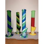 Assorted Silicone Plain Wheel Bong Style Pipe Wholesale