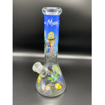 Heavy Duty Rick and Morty Glass Bong