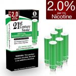 21st Century Smoke Electronic Cigarette Menthol Cartridges