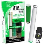 21st Century Smoke Electronic Alternative Cigarette - Menthol Kit