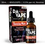 DA Vape Vapin Plus Hawaiian Wave 0.3% 30ml Premium E-Liquid Bottle
