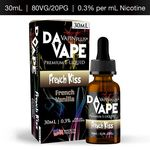 DA Vape Vapin Plus French Kiss 0.3% 30ml E-Liquid