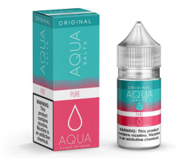 AQUA Salts Original PURE eLiquid 30ml 50MG Nicotine Salts Wholesale