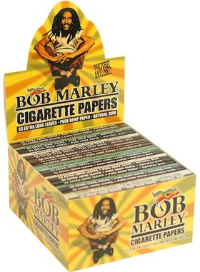 BOB MARLEY Cigarette Rolling Papers 24PK