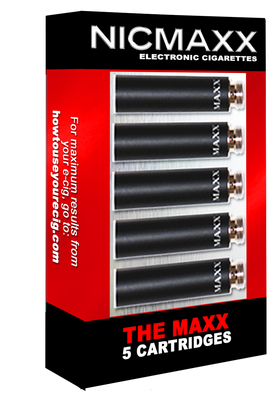 NICMAXX The MAXX Electronic Cigarette Cartridges 5 CT Wholesale